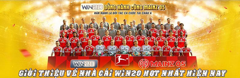 Thông Tin Giới Thiệu Về Nhà Cái Win20 Hot Nhất Hiện Nay